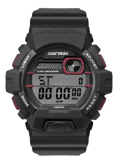 Relógio Mormaii Masculino Preto Redondo - Mo8090ac/8r