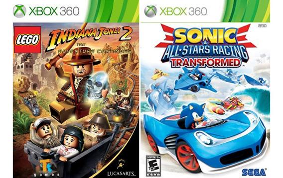 Lego Indiana Jones + Sonic - Xbox 360 Midia Digital