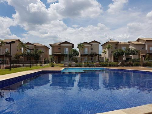 Casa Com 3 Dormitórios À Venda, 120 M² Por R$ 650.000,00 - Condomínio Sunset Boulevard - Paulínia/sp - Ca3672