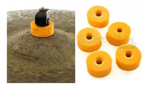 Feltros Rubber Wheel Kit Com 10 Feltros (laranja) Para Esta
