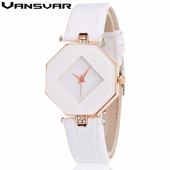 Relógio De Quartzo-relógio De Luxo Vestido De Pulso