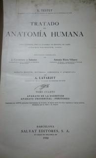Tratado De Anatomía Humana - Testut - 8a Ed Tomo 4 - 1932