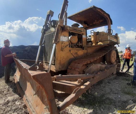 Bulldozer Caterpillar D6h Xl Turbo Diesel