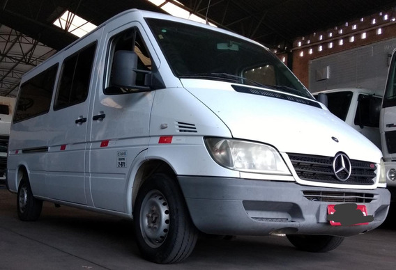 Sprinter Van 2006 Cdi 313 Luxo Teto Baixo 5p Barato 47000