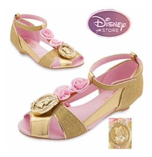 Sapato Princesa Bela Original Disney Pronta Entrega