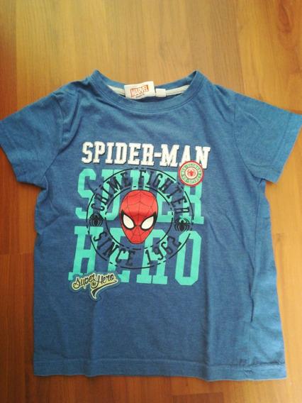 Playera Spiderman 5 Años