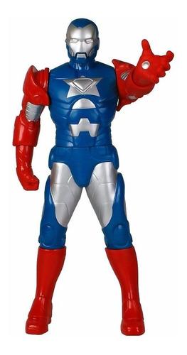 Novo Boneco Gigante Original Mimo Homem De Ferro Patriota