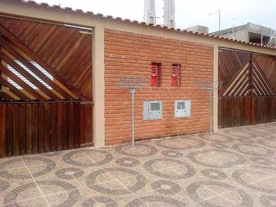 Aluguel Definitivo Casa Nova Lado Praia 900,00 Itanhaém