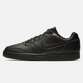 Tênis Nike Ebernon Low Preto Casual Masculino Original