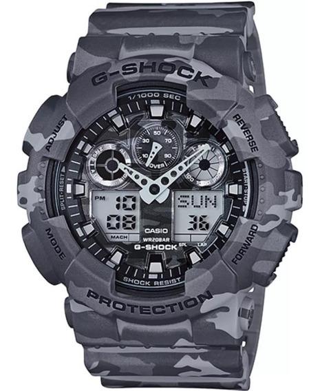 Relógio Casio G-shock Ga-100cm-8adr Original + Frete Grátis