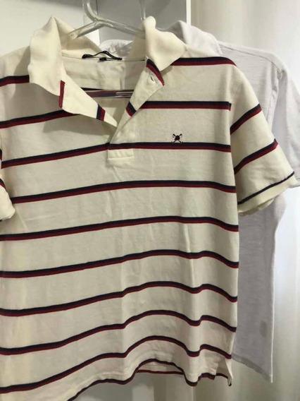 Kit Duas Camisas Masculina Calvin Klein E Polo Play Tam M