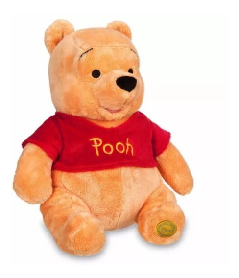 Ursinho Pooh Pelúcia Grande 40cm Original Disney Pronta Entr