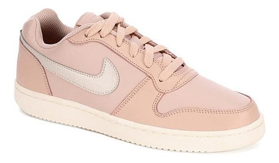Tenis Nike Mod. 744731 Ebernon Low Beige Para Mujer / H