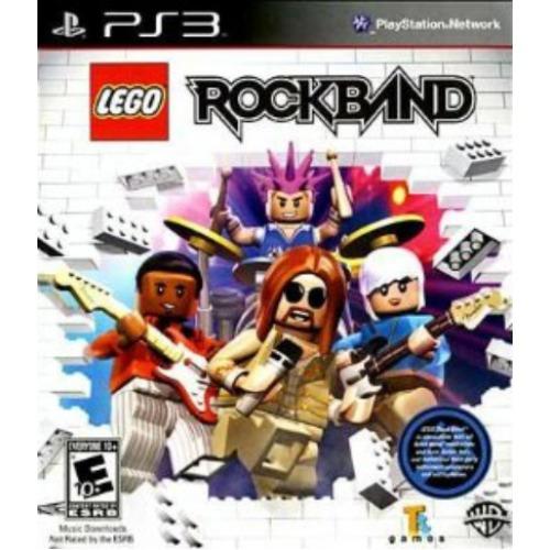 Jogo Lego Rock Band - Ps3 Mídia Física Usado