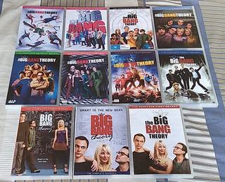 Dvd The Big Bang Theory Seriado 1ª À 12ª Temp.* Frete Grátis