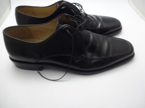 Sapatos Salvatore Ferragamo - 100 % Couro - 44 Italy Ref Sf