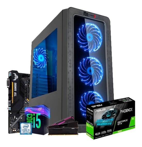 Pc Gamer Intel I5 9400f Tuf B360 (gtx 1660 6g) Ssd 512gb 8gb