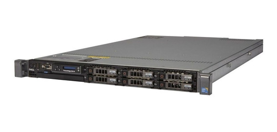Servidor Dell Poweredge R610 Com 1x Processador Intel Xeon E5645 Quadcore 2.4ghz 10mb Cache 16gb Ddr3 1x 500gb + Frete