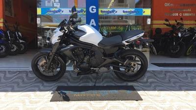 Kawasaki Er6n Abs 2014 Branca Único Dono