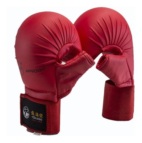 Ithaca Store Tokaido - Nudilleras Karate Homologado Wkf Rojo