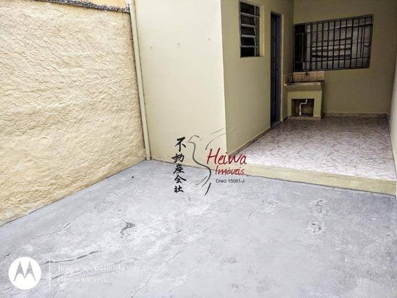 Casa Com 1 Dormitório Para Alugar, 60 M² Por R$ 1.200,00/mês - Jardim Santo Elias - São Paulo/sp - Ca1039