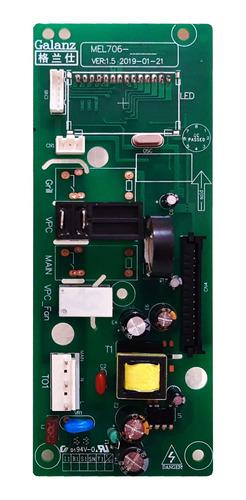 Imagem 1 de 9 de Placa Controle Microondas Philco Mel706 Pme25 V.f 127v