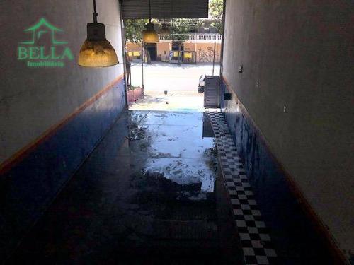 Galpão Para Alugar, 170 M² Por R$ 4.000/mês - Jardim Santo Elias - São Paulo/sp - Ga0181