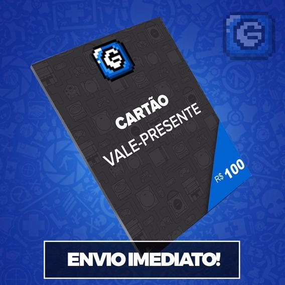 Cartão Presente Gcm Games R$ 100 Reais Envio Imediato