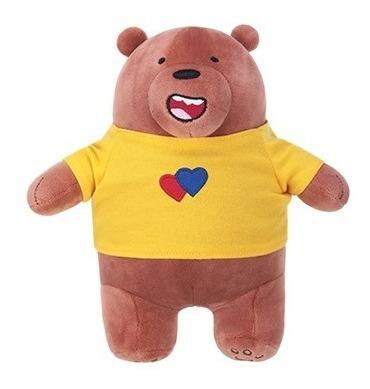 Pelúcia Urso Sem Curso Miniso - Pardo