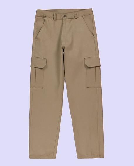 Pantalon Cargo Negro.tipo Pampero Ombu. Trabajo.