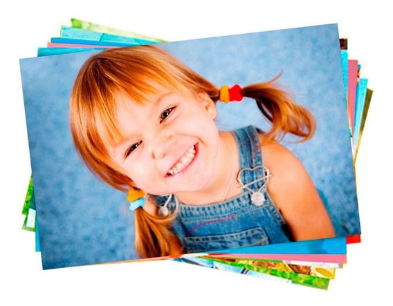 1000 Fls Papel Fotografico Glossy 135g Super Oferta