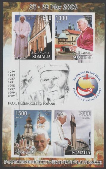 Somalia 2006 Muerte Papa Juan Pablo Ratzinger Mint S/dentar