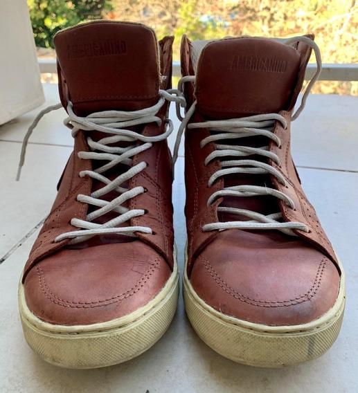 Zapatillas Tipo Botita Marca Americanino Talle 41 Usadas