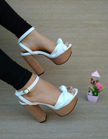 c5f3d46a Sandalias De Tacon Alto Elegantes - Zapatos para Mujer en Mercado ...