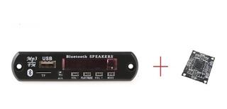 Combo Modulo Usb Con Bluetooth + Amplificador Pam 8610 Nuevo