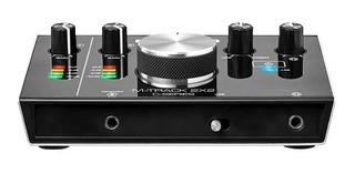 Interfaz Usb Audio Usb M Audio Mtrack2x2 Grabacion 24 Bits