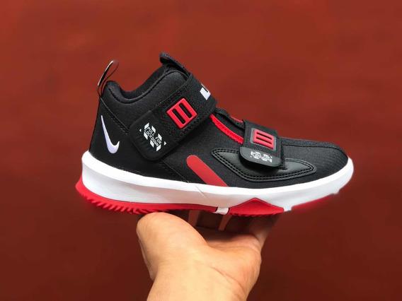 Kids Nike Lebron Soldier 13 Xiii Bred 18 Cm Jordan Kd Kyrie