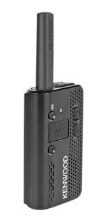 Radio Kenwood Pkt03k Portátil Mini + Cargador, Cable Correa