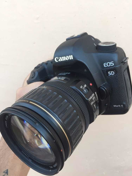 Câmera Cânon 5d Mark Ii + Lente 28-135mm