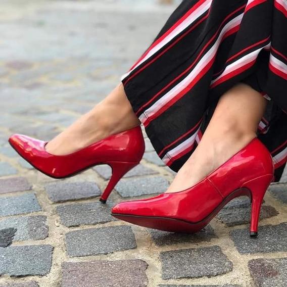 ahorrar 0b564 9b2a1 Zapatos Punta Aguja Rojos - Calzado en Mercado Libre Argentina