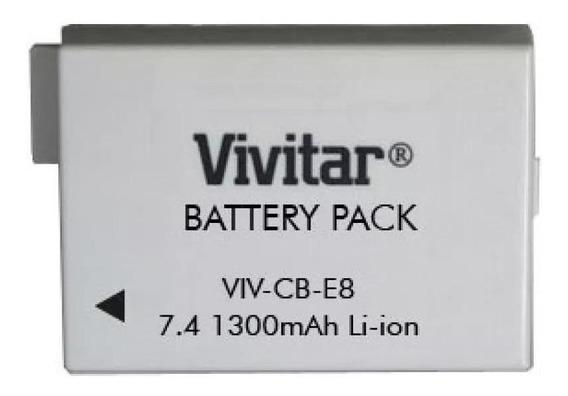 Bateria Vivitar Lp-e8 Canon T2i T3i T4i T5i 550d 1300mah