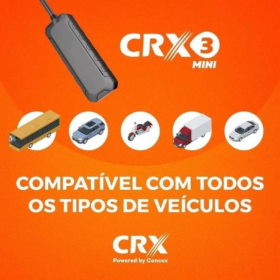Rastreador Veicular Crx3 Mini Gps Concox Anatel