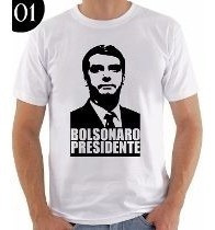 Camisa Jair Bolsonaro Presidente