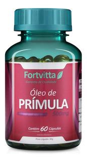 Óleo De Primula 60capsulas De 500mg- Fortvitta