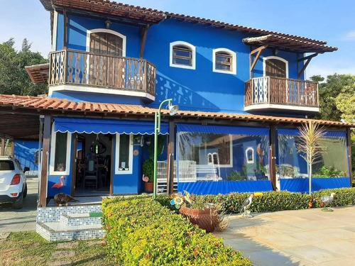 Imagem 1 de 15 de Casa 4 Dormitórios Ou + Para Venda Em Araruama, Praia Do Gavião, 5 Dormitórios, 5 Suítes, 4 Banheiros, 10 Vagas - 138_2-336899