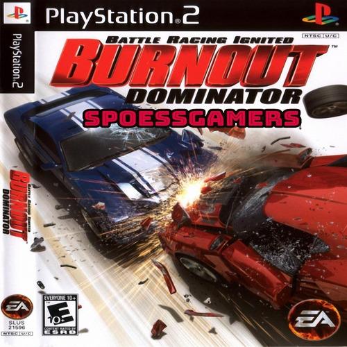 Burnout 5 Dominator ( Carros ) Ps2 Desbloqueado Patch