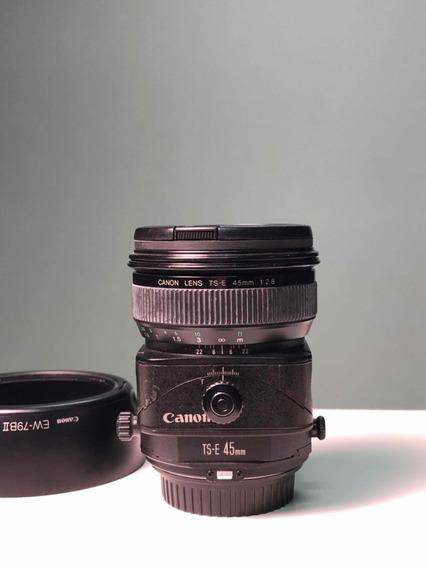 Lente Canon Tilt Shift 45mm 2.8