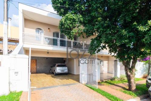 Extraordinária Casa Com 6 Dormitórios À Venda, 288 M² Por R$ 870.000 - Nova Campinas - Campinas/sp - Ca5848