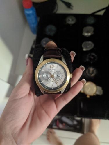 Relógio Náutica Raro De Coleção