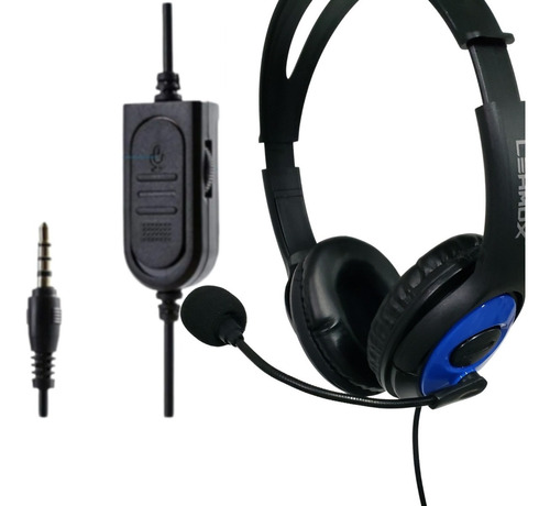Imagem 1 de 9 de Headset Fone Gamer C/ Microfone Ps4 Xbox One Lehmox